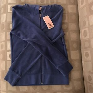 JUICY COUTURE velour jacket NWT